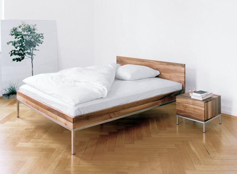 Einrichten Naturholzmobel Furs Schlafzimmer Schoner Wohnen