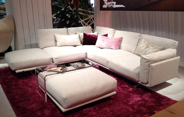 sofa deep space von br hl sofas auf der imm cologne 8 sch ner wohnen. Black Bedroom Furniture Sets. Home Design Ideas