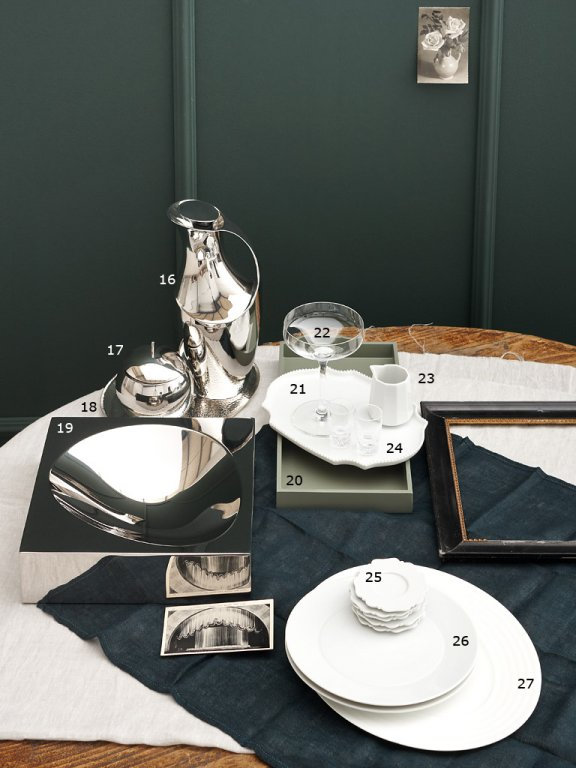 tischdeko in drei stilen sch ner wohnen. Black Bedroom Furniture Sets. Home Design Ideas