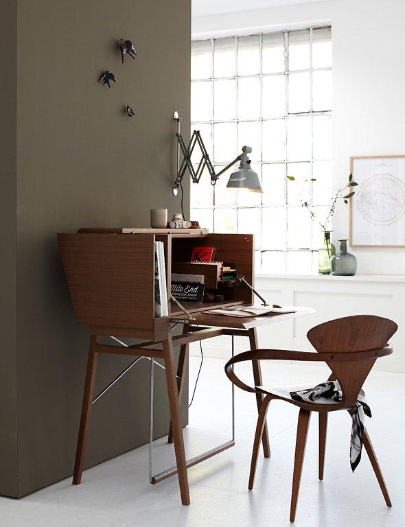 schreibtische f r jeden wohnstil und raum sch ner wohnen. Black Bedroom Furniture Sets. Home Design Ideas