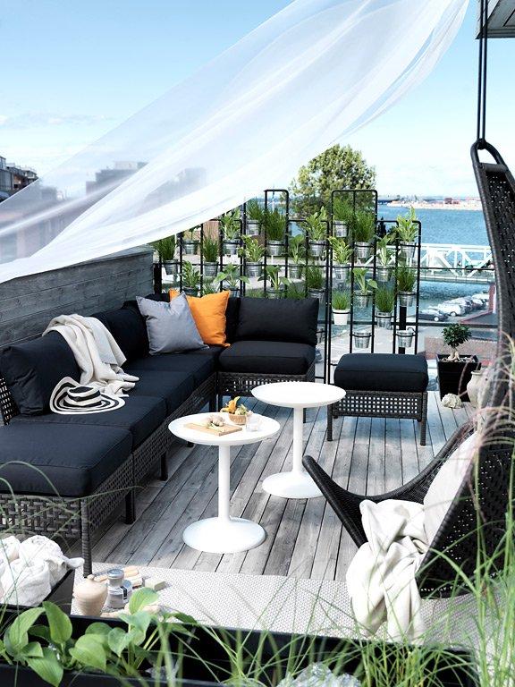 Outdoor Sofa Kungsholmen Von Ikea Bild 48 Schoner Wohnen