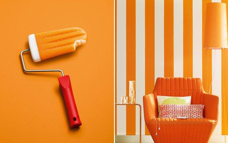 Schoner Wohnen Kollektion Schoner Wohnen Trendfarbe Mango Bild
