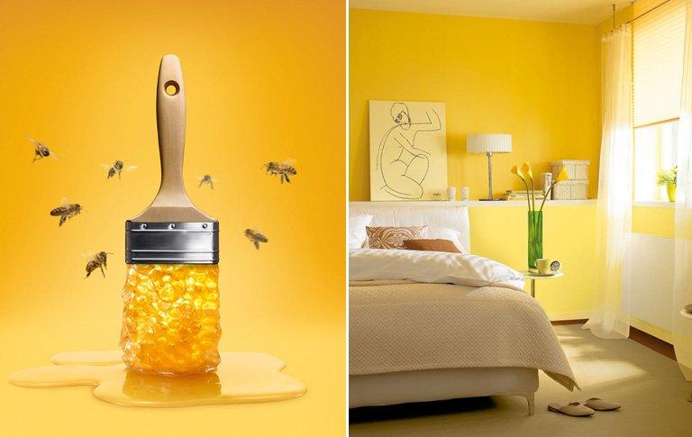 schoener wohnen trendfarbe honey bild  schoener wohnen