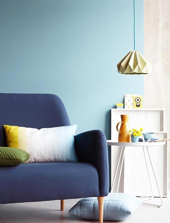 wohnen mit farbe pastell als wandfarbe mit farbigen m beln sch ner wohnen. Black Bedroom Furniture Sets. Home Design Ideas