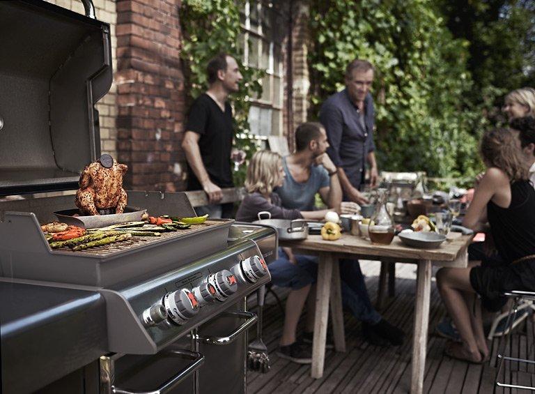 Outdoor Küche Weber : Gartenideen für die warme zeit draußen! [schÖner wohnen]