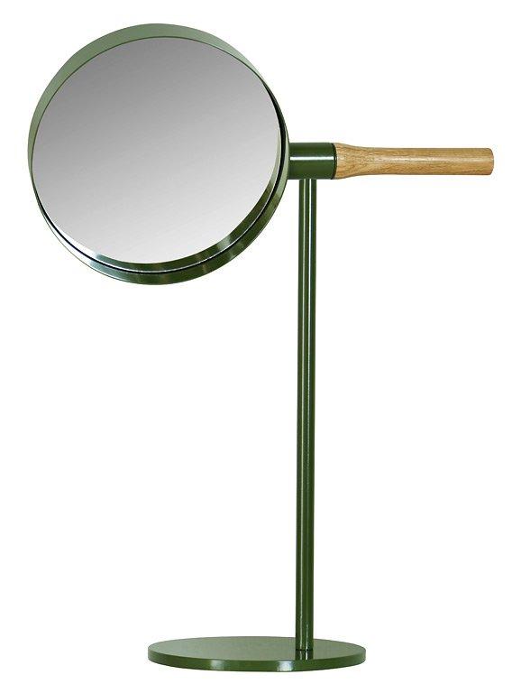 rotierend tischspiegel me mirror von asplund der 55 cm hohe tischspiegel me mirror l sst sich an. Black Bedroom Furniture Sets. Home Design Ideas