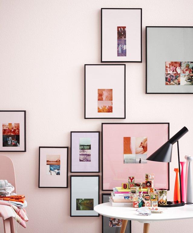Fotowand ideen zum gestalten sch ner wohnen - Wandgarten wohnzimmer ...
