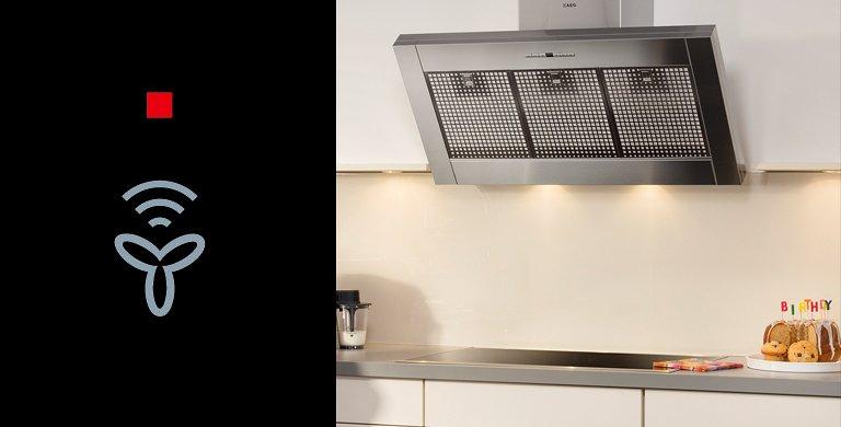 automatische dunstabzugshaube hob2hood von aeg bild 2 sch ner wohnen. Black Bedroom Furniture Sets. Home Design Ideas