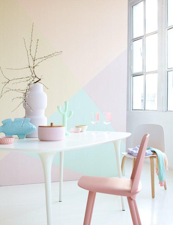 pastellfarben so richten sie mit pastellt nen ein sch ner wohnen. Black Bedroom Furniture Sets. Home Design Ideas
