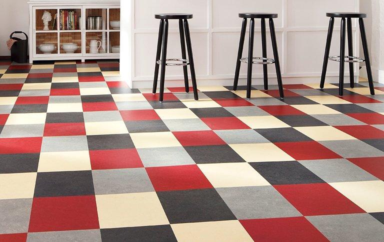 Favorit ▷ Linoleum: Bodenbelag mit vielen Vorteilen - [SCHÖNER WOHNEN] KF63