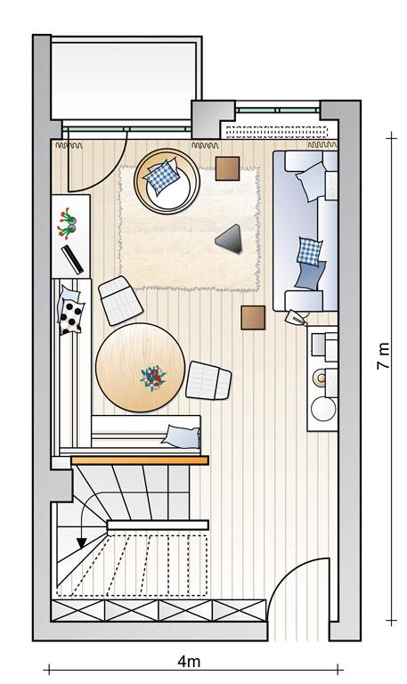 klare aufteilung wohnzimmer sch ner wohnen. Black Bedroom Furniture Sets. Home Design Ideas