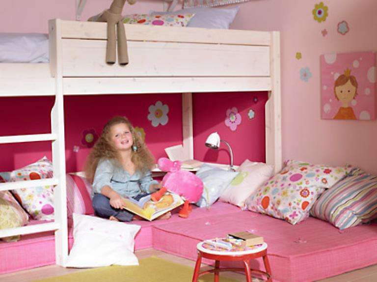 Schrank Unter Hochbett : Kinderzimmer : Kinderzimmer Ideen Hochbett Ideen At