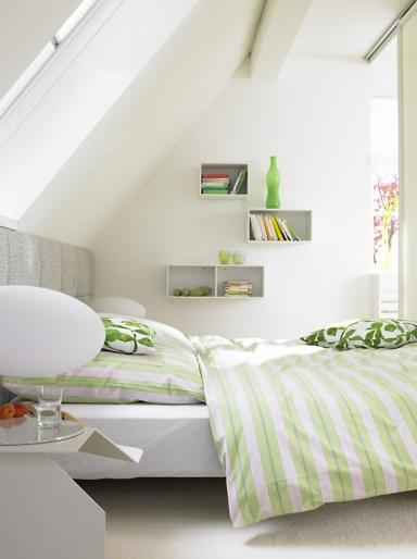 know how gem tliche schlafecke unter der schr ge bild 6 sch ner wohnen. Black Bedroom Furniture Sets. Home Design Ideas