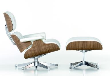 sessel lounge chair ottoman von vitra bild 69 sch ner wohnen. Black Bedroom Furniture Sets. Home Design Ideas