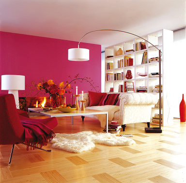 fotostrecke pretty in pink bild 3 sch ner wohnen. Black Bedroom Furniture Sets. Home Design Ideas