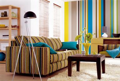 fotostrecke kreative wandgestaltung sch ner wohnen. Black Bedroom Furniture Sets. Home Design Ideas