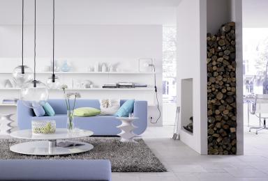 fotostrecke blaue stunde bild 5 sch ner wohnen. Black Bedroom Furniture Sets. Home Design Ideas