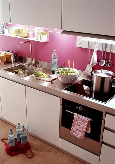 frischekick f r die k che pretty in pink robuste. Black Bedroom Furniture Sets. Home Design Ideas