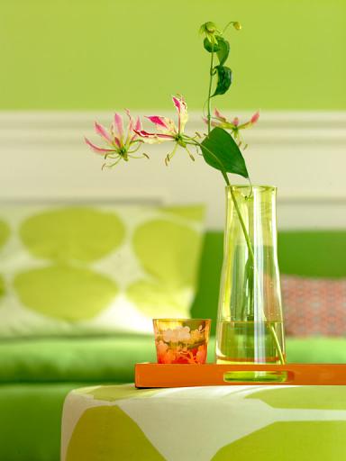 Bettwasche Grun Pink : Schlafzimmer Orange Grün  Fotostrecke Grün mag Orange – Bild 5