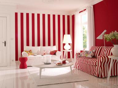 fotostrecke zimmer in wei und rot bild 16 sch ner wohnen. Black Bedroom Furniture Sets. Home Design Ideas