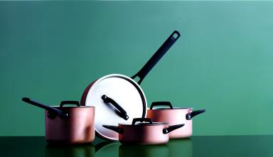 kochtopf serie gourmet copper von spring bild 4 sch ner wohnen. Black Bedroom Furniture Sets. Home Design Ideas