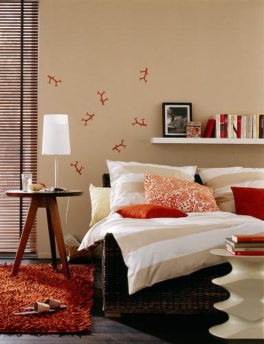 wohnen mit farben sch ner wohnen trendfarben sand und. Black Bedroom Furniture Sets. Home Design Ideas