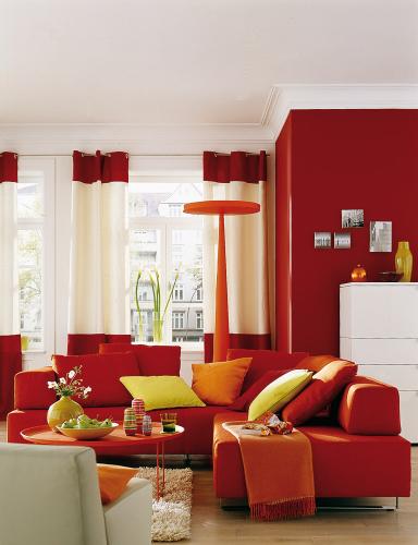 inspiration wohnzimmer mit schoener wohnen trendfarbe