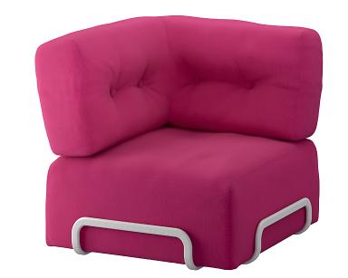 R rberg eck element in pink bild 2 sch ner wohnen for Billige sofas gebraucht