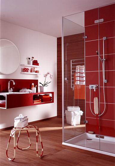 rotes badezimmer die rote wand 10 sch ner wohnen. Black Bedroom Furniture Sets. Home Design Ideas