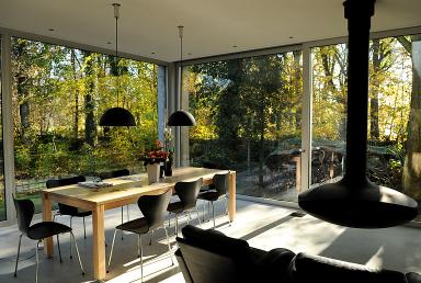 offener kamin im wohnraum bild 4 sch ner wohnen. Black Bedroom Furniture Sets. Home Design Ideas