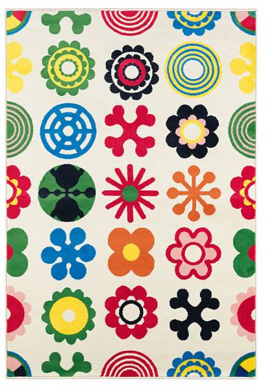 Weihnachten Farbenfoher Teppich Lusy Blom von Cilla