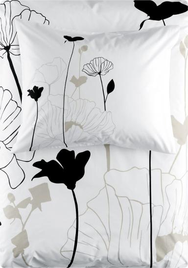 bettw sche mit blumen print h m home 2010 15 sch ner wohnen. Black Bedroom Furniture Sets. Home Design Ideas