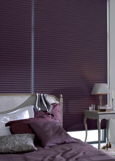 neue klassiker faltjalousie duette von teba design teba inhouse bild 3 sch ner wohnen. Black Bedroom Furniture Sets. Home Design Ideas
