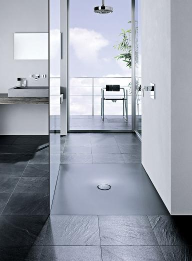 ebenerdige duschen sch ner wohnen. Black Bedroom Furniture Sets. Home Design Ideas