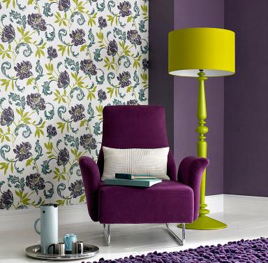 einrichten tapeten mit grafischen mustern eher vermeiden. Black Bedroom Furniture Sets. Home Design Ideas