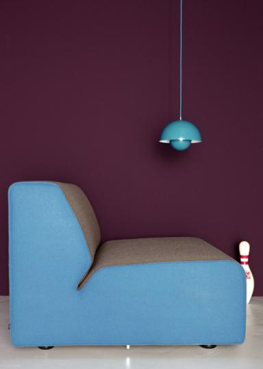 SCHÖNER WOHNEN Trendfarbe Lounge Mit Türkis Und Braun   Trend .