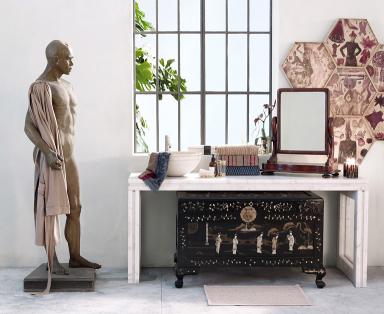 home collections eine prise asia f rs badezimmer bild 8 sch ner wohnen. Black Bedroom Furniture Sets. Home Design Ideas