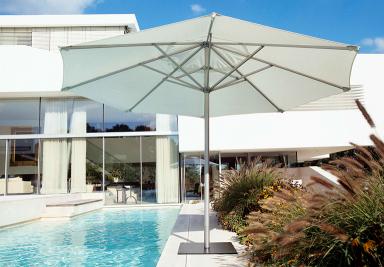 sonnenschirm f r balkon und terrasse sch ner wohnen. Black Bedroom Furniture Sets. Home Design Ideas