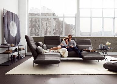 sofa plura von rolf benz sch ner wohnen. Black Bedroom Furniture Sets. Home Design Ideas
