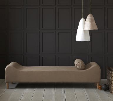 fotostrecke polsterbank contore und leuchte beata. Black Bedroom Furniture Sets. Home Design Ideas