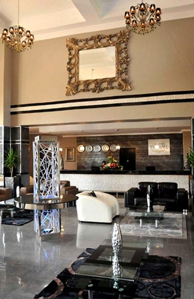 wm 2010 modernes hoteldesign bild 4 sch ner wohnen. Black Bedroom Furniture Sets. Home Design Ideas