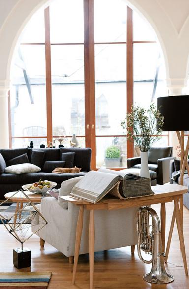 fotostrecke zeitlos konsoltisch ida von habitat bild 8 sch ner wohnen. Black Bedroom Furniture Sets. Home Design Ideas