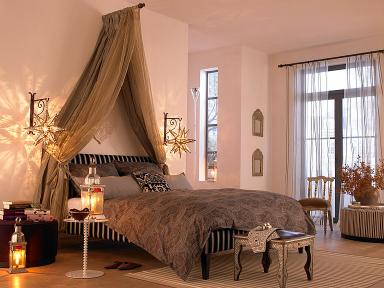 Fotostrecke bett gala mit kopfteil lago von schramm bild 20 sch ner wohnen - Afrika stil wohnzimmer ...