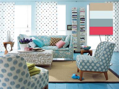 wohnen mit farbe 1 stil mustermix bild 2 sch ner wohnen. Black Bedroom Furniture Sets. Home Design Ideas
