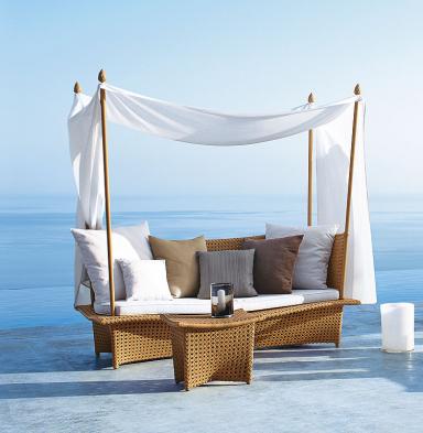 """fotostrecke: romantisches daybed """"daydream"""" von dedon - bild 10, Gartengerate ideen"""