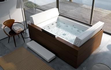 fotostrecke whirlwanne sundeck mit ruheliege von. Black Bedroom Furniture Sets. Home Design Ideas