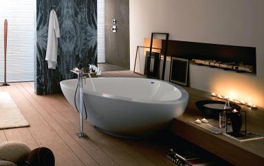 design badewanne axor maussaud in muschelform die. Black Bedroom Furniture Sets. Home Design Ideas