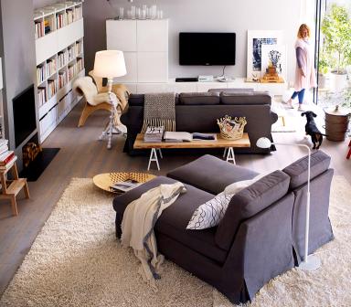 einrichten cocooning mit ikea sch ner wohnen. Black Bedroom Furniture Sets. Home Design Ideas