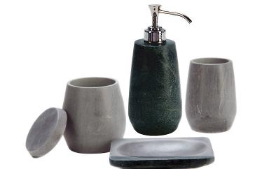 Badaccessoires stein  Glatt geschliffen: Stein-Accessoires