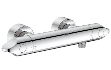 thermostat armatur veris von grohe wellness f r die dusche 16 sch ner wohnen. Black Bedroom Furniture Sets. Home Design Ideas